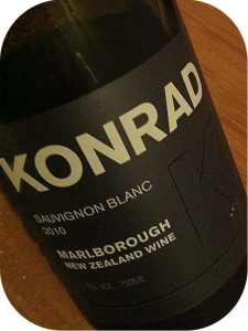 2010 Konrad, Sauvignon Blanc, Marlborough, New Zealand