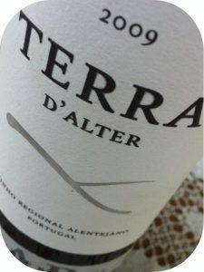 2009 Terras de Alter, Terra D'Alter Alicante Bouschet, Alentejo, Portugal