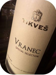 2011 Tikveš Winery, Vranec Selection Special, Makedonien