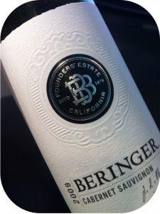 2009 Beringer Vineyards, Founders Estate Cabernet Sauvignon, Californien, USA