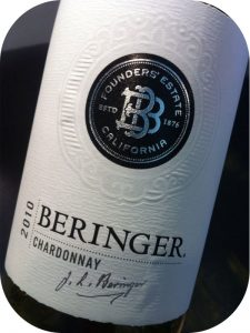 2010 Beringer Vineyards, Founders Estate Chardonnay, Californien, USA