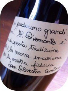 2012 Cantine San Silvestro, Cortese Frizzante Spago, Piemonte, Italien