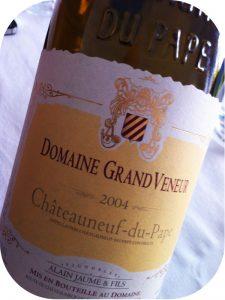 2004 Domaine Grand Veneur, Châteauneuf-du-Pape, Rhône, Frankrig