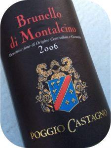 2006 Piccini, Brunello di Montalcino Poggio Castagno, Toscana, Italien