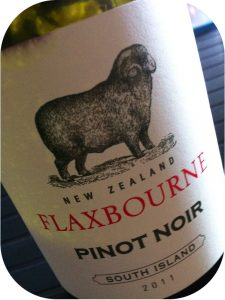 2011 Yealands Estate, Pinot Noir Flaxbourne, Marlborough, New Zealand