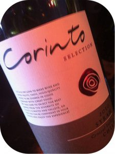 2010 Corinto Wines, Syrah, Central Valley, Chile