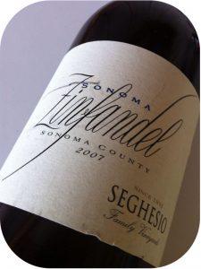 2007 Seghesio Family Vineyards, Sonoma County Zinfandel, Californien, USA