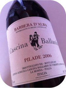 2006 Cascina Ballarin, Barbera d'Alba Pilade, Piemonte, Italien