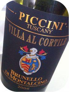 2006 Piccini, Brunello di Montalcino Villa Al Cortile, Toscana, Italien