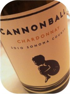2010 Cannonball Wines, Sonoma County Chardonnay, Californien, USA