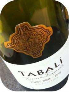 2010 Tabalí, Pinot Noir Reserva Especial, Limarí Valley, Chile