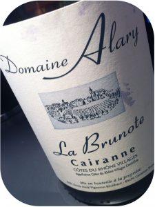 2010 Domaine Alary, La Brunote Cairanne Côtes du Rhône Villages, Rhône, Frankrig