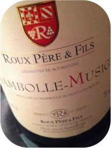 2009 Domaine Roux Père & Fils, Chambolle-Musigny, Bourgogne, Frankrig