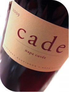 2009 Cade Estate Winery, Cabernet Sauvignon Napa Cuvée, Californien, USA