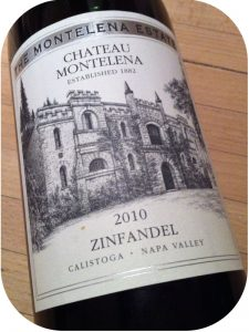 2010 Château Montelena, Estate Zinfandel, Californien, USA