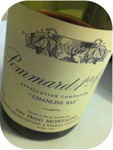 2003 Domaine Henri Montagny, Pommard 1'er Cru Chanlins Bas, Bourgogne, Frankrig