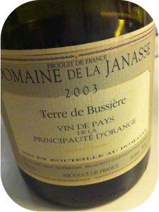 2003 Domaine de la Janasse, Vin de Pays Principaute d'Orange Terre de Bussière, Rhône, Frankrig