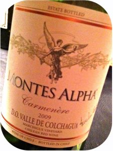 2009 Montes, Alpha Carmenére, Colchagua, Chile