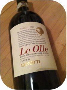 2011 Cantine Lenotti, Le Olle Bardolino Classico Superiore, Veneto, Italien