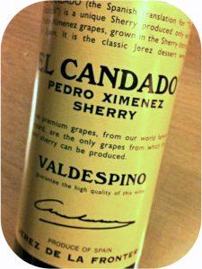 N.V. Bodegas A.R. Valdespino, Pedro Ximénez El Candado Sherry, Jerez, Spanien