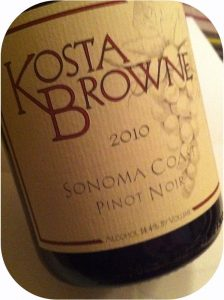 2010 Kosta Browne Winery, Sonoma Coast Pinot Noir, Californien, USA