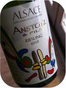 2010 Domaine Anstotz & Fils, Riesling, Alsace, Frankrig