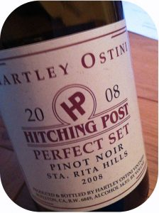 2008 Hartley-Ostini Hitching Post Winery, Pinot Noir Perfect Set, Californien, USA
