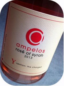 2013 Ampelos Cellars, Rosé of Syrah, Californien, USA