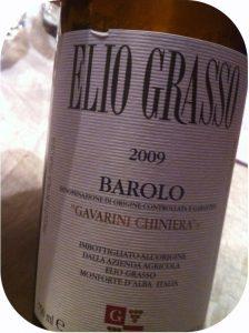 2009 Elio Grasso, Barolo Gavarini Chiniera, Piemonte, Italien