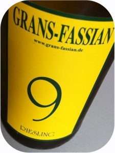 2013 Weingut Grans-Fassian, Cuvée 9 Riesling, Mosel, Tyskland