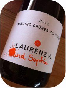 2012 Laurenz V, Singing Grüner Veltliner, Kremstal, Østrig