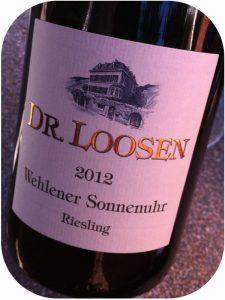 2012 Weingut Dr. Loosen, Wehlener Sonnenuhr Riesling GG, Mosel, Tyskland