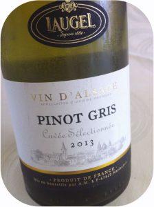 2013 Les Grands Chais de France, Laugel Pinot Gris Cuvée Sélectionnée, Alsace, Frankrig