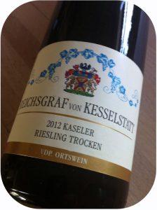 2012 Reichsgraf von Kesselstatt, Kaseler Riesling Trocken, Mosel, Tyskland