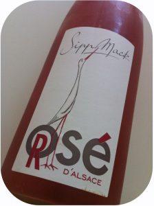 2013 Domaine Sipp Mack, Rosé d'Alsace Pinot Noir, Alsace, Frankrig