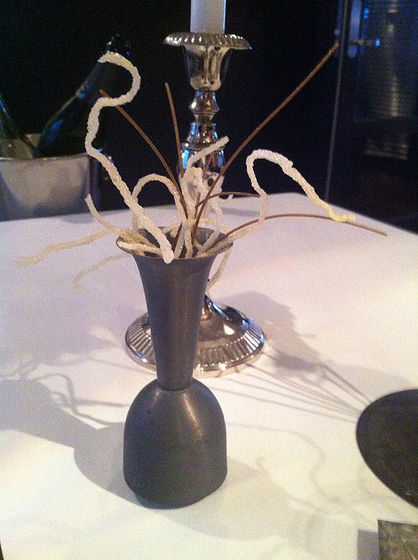 Vase med sprødt