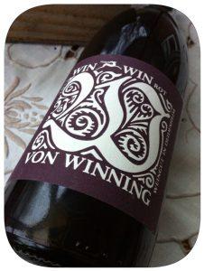 2011 Weingut von Wining, Win Win Rot Trocken, Pfalz, Tyskland
