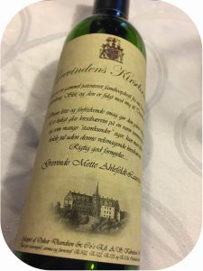 tranekær slot kirsebærvin