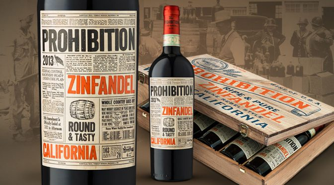 2013 PrimeWine, Prohibition Zinfandel, Californien, USA