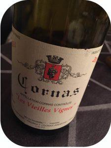 2011 Alain Voge, Cornas Les Vieilles Vignes, Rhône, Frankrig