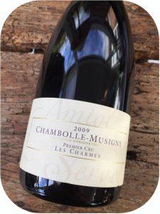 2009 Amiot-Servelle, Chambolle-Musigny Les Charmes Premier Cru, Bourgogne, Frankrig