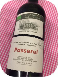 2014 Domaine de Tavernel, Passerel Rouge Vin de Pays du Gard, Languedoc, Frankrig