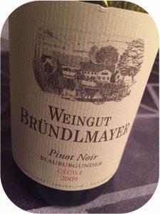 2009 Weingut Bründlmayer, Pinot Noir Cécile, Kamptal, Østrig
