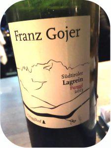 2013 Franz Gojer Glögglhof, Südtiroler Lagrein Furggl, Alto Adige, Italien