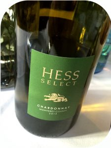 2013 Hess Wines, Hess Select Monterey Chardonnay, Californien, USA