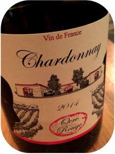 2014 Domaine de l'Ocre Rouge Aymeric et Marceline Beaufort, Chardonnay, Languedoc, Frankrig