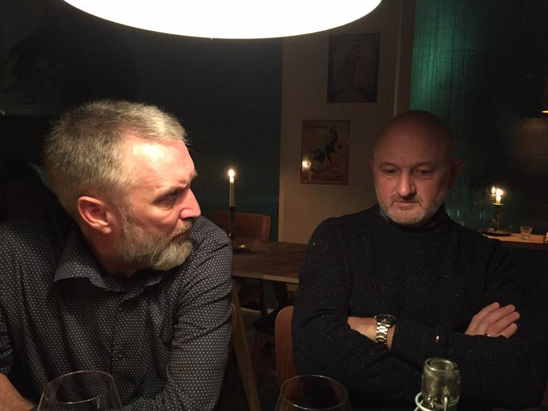 Per og Gert på Svinbar