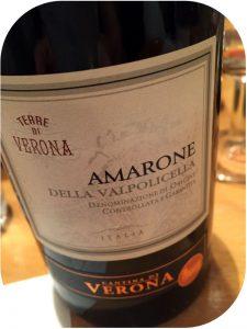 2012 Cantina di Verona, Amarone della Valpolicella, Veneto, Italien