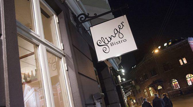 Besøg på Slinger Bistro … og opvarmning på S'vinbar