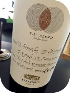 2010 Viña Errazuriz, The Blend Collection, Aconcagua, Chile
